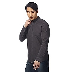 Wrangler - Dark grey checked shirt