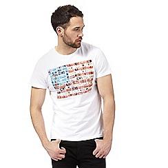Wrangler - White printed t-shirt