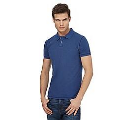 Wrangler - Blue polo shirt