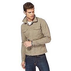 Wrangler - Khaki overshirt jacket