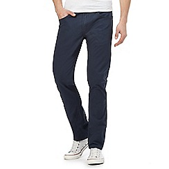 Lee - Navy 'Daren' regular slim chinos