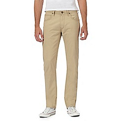 Lee - Beige 'Daren' regular slim chinos