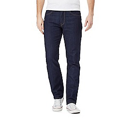 Lee - Dark blue 'Brooklyn' straight leg jeans