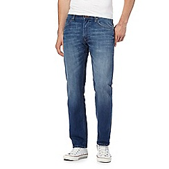 Lee - Blue 'Daren' straight leg jeans