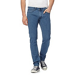 Lee - Light blue 'Luke' slim fit jeans
