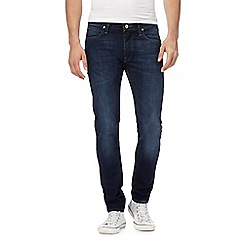 Lee - Dark blue wash slim fit jeans