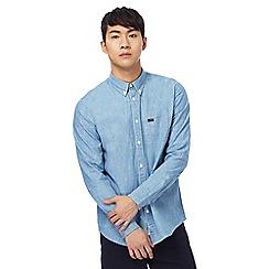 Lee - Light blue long sleeve button down shirt