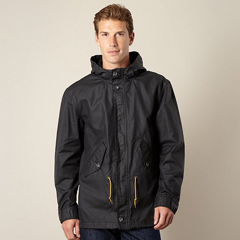 Levi+s - Black short parka jacket