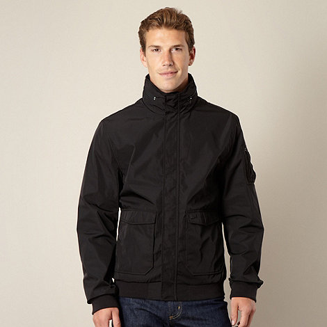 Levi's - Black hooded bomber jacket