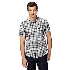 Lee - Grey checked regular fit shirt
