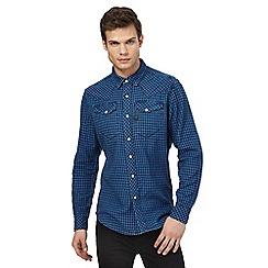 G-Star Raw - Blue checked shirt