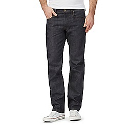 G-Star - Navy straight leg denim 3301 jeans