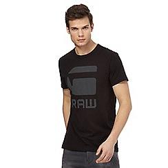 G-Star Raw - Black logo print t-shirt