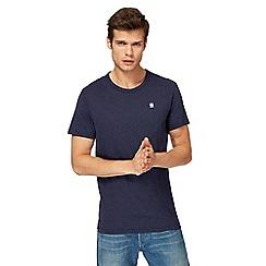 G-Star - Navy logo print t-shirt