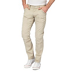 G-Star - Natural tapered trousers