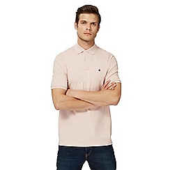 G-Star - Pinklogo print polo shirt
