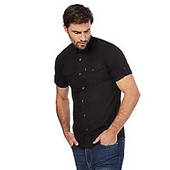 883 Police - Black short-sleeved shirt