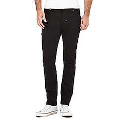 883 Police - Black slim fit jeans