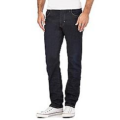 883 Police - Dark blue wash regular fit jeans