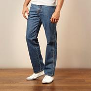 Blue Ohio straight leg jeans