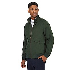 Racing Green - Big and tall green harrington jacket