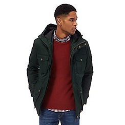 Racing Green - Dark green hooded 3 in 1 jacket