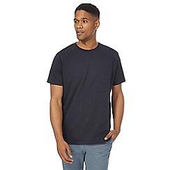 Racing Green - Big and tall navy pocket t-shirt