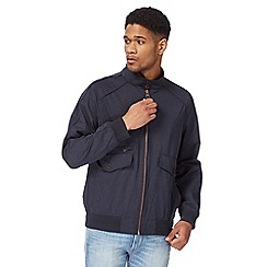 Racing Green - Navy Harrington jacket