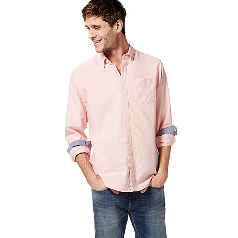 Racing Green - Pink Oxford tailored shirt