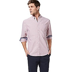 Racing Green - Pale pink Oxford tailored fit shirt