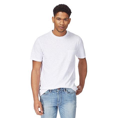 Racing Green - White pocket t-shirt