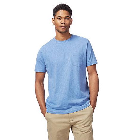 Racing Green - Big and tall blue pocket t-shirt