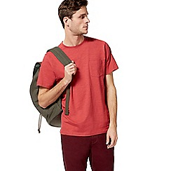 Racing Green - Red pocket t-shirt