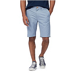 Racing Green - Blue chino shorts