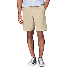 Racing Green - Big and tall natural chino shorts