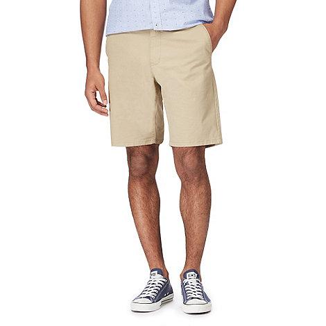 Racing Green - Natural chino shorts