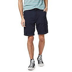 Racing Green - Navy cargo shorts