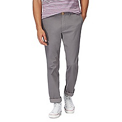 Racing Green - Big and tall grey chino trousers