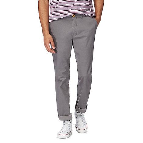 Racing Green - Grey chino trousers