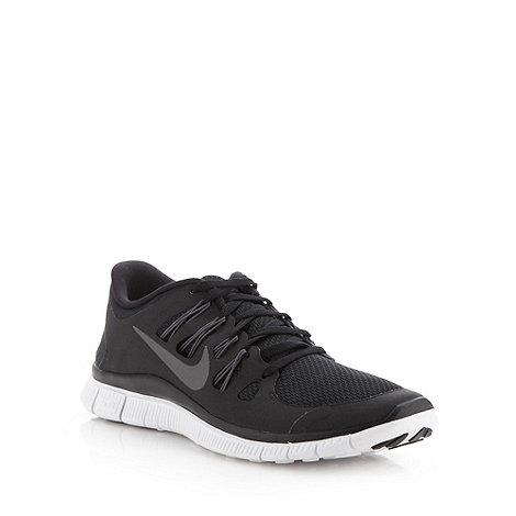 Nike - Black +Free5.0+ trainers