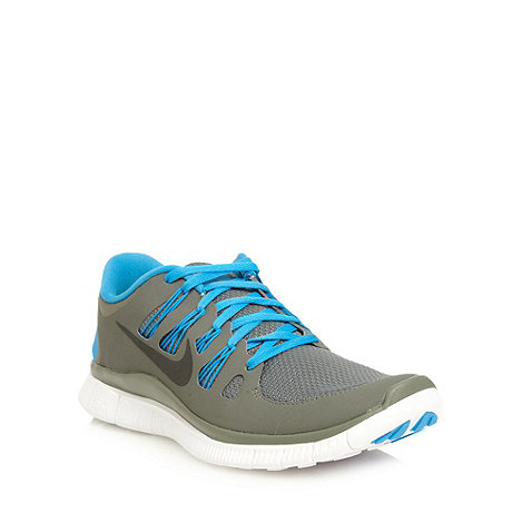 Nike - Blue 'Free 5.0' trainers