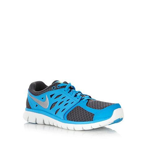Nike - Blue +Flex 2013+ trainers