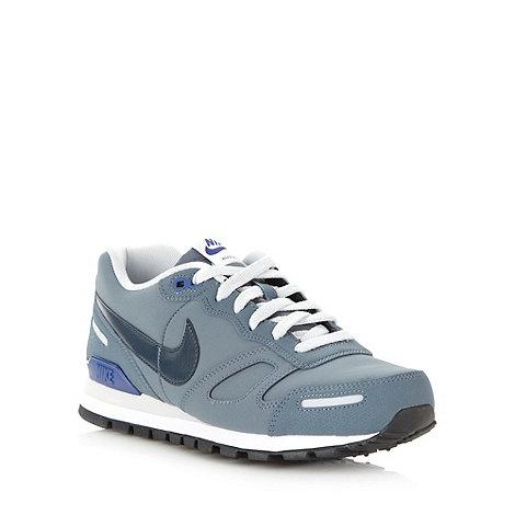 Nike - Grey panel +Waffle+ trainers