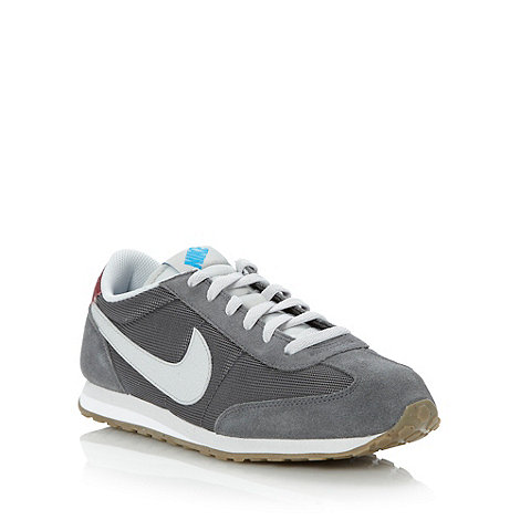 Nike - Grey +Mach Runner+ trainers