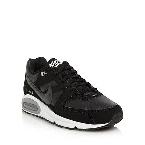 Nike - Black +Air Max Command+ trainers