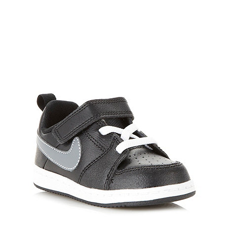 Nike - Boys black 'Backboard 2' trainers