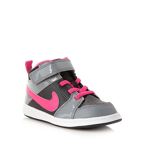 Nike - Babies black +Backboard 2 Mid+ trainers