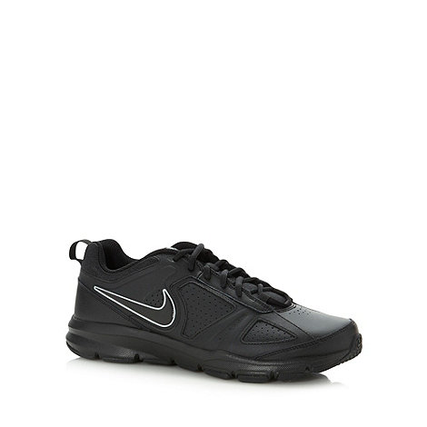 Nike - Black logo lace gym trainers