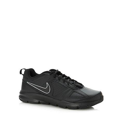 Nike - Black logo lace gym trainers