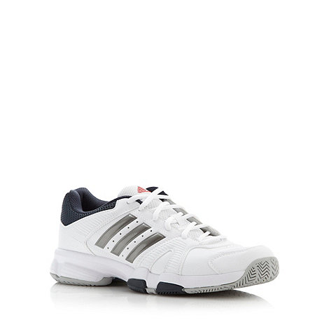adidas - White +Barracks F10+ trainers